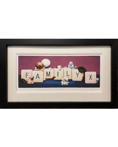 Family (Black Frame)