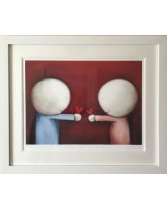 Giving You My Heart (Framed)