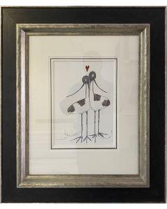 Lovebirds Sketch I