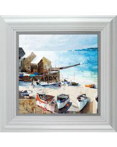 Reflections- Sennen Cove