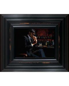 Man Lighting a Cigar III