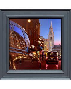 London Dusk Reflection