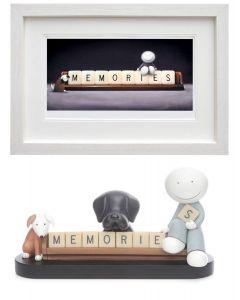Making Memories (white frame, pair)