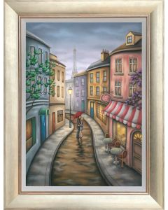 One Night in Paris - Board Framed