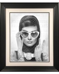 Peace, Love & Audrey (B/W)