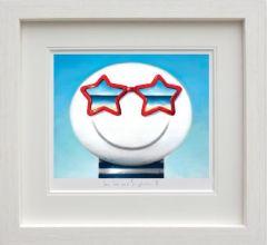 Sun, Sea and Sunglasses II (Framed)